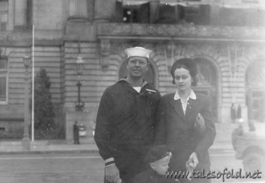 Frank Williams Family, World War II