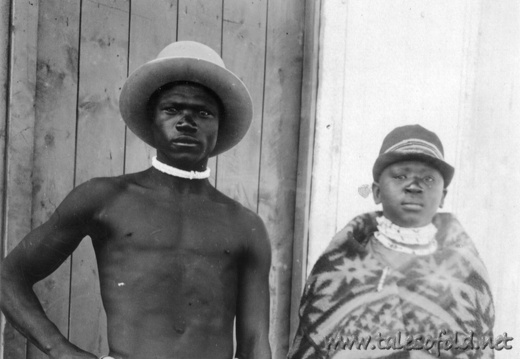 South African Couple in the 1920's
