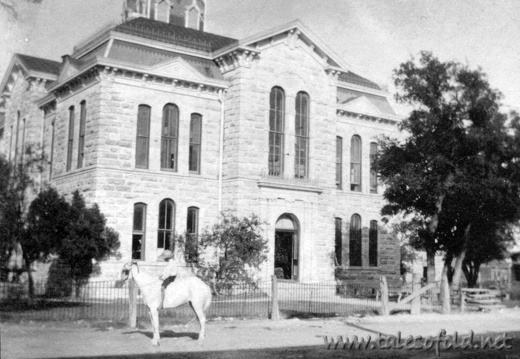 Lampasas County, Texas Courthouse