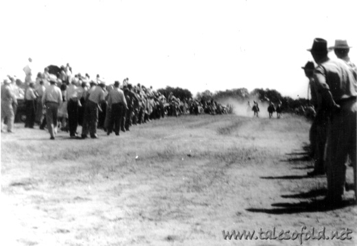 Races at Llano, Texas, 1946