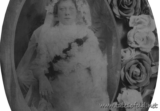 Lucy Kirtkowski Wedding Portrait, cir. 1910-1913